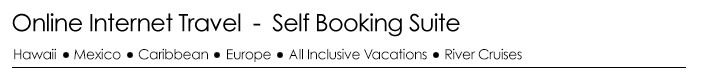 Online Internet Travel - Self Booking Suite
